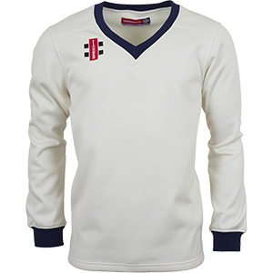 Velocity Sweater Trim Navy