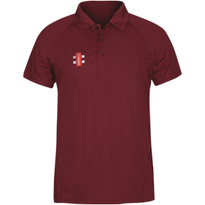 Matrix Polo Shirt Maroon