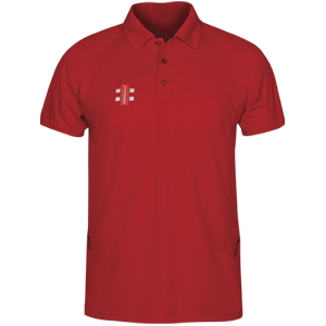 Matrix Polo Shirt Red