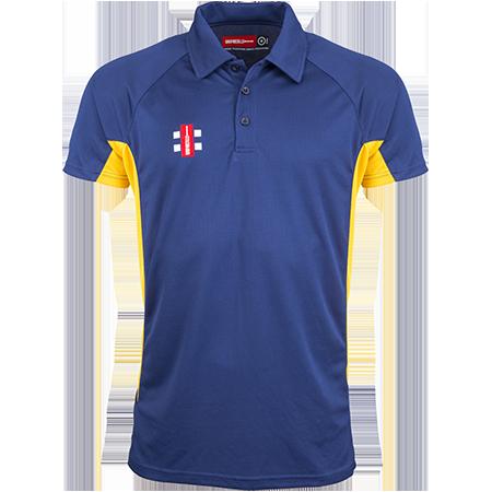 Gray-Nicolls Cricket Matrix Pro Navy_gold Front