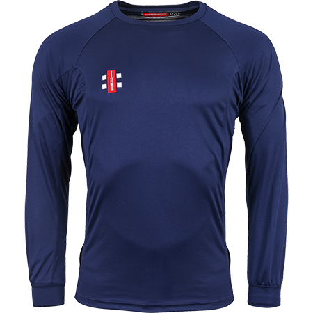 Gray-Nicolls Cricket Shirt Matrix LS Navy M