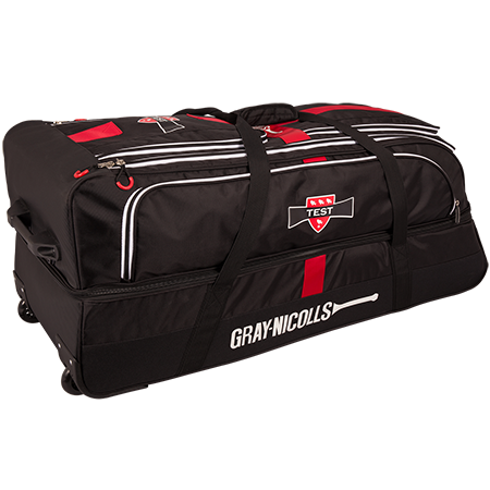 Gray-Nicolls Cricket Test Holdall Black_red_white Back