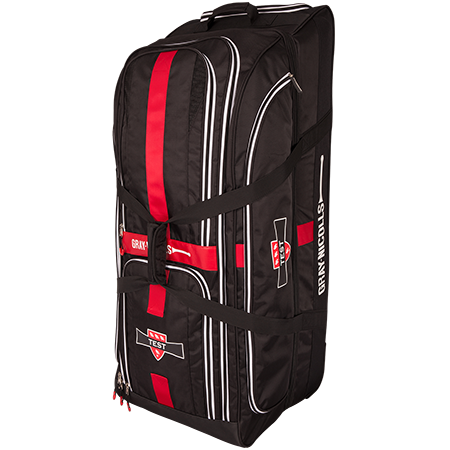 Gray-Nicolls Cricket Test Holdall Holdall Black_red_white Standing