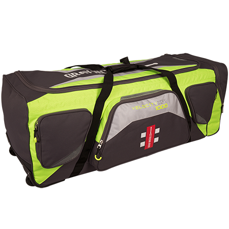 Gray-Nicolls Cricket Pro Velocity XP1 1000 Holdall Green_grey Back