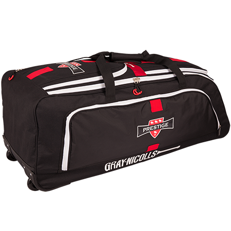 Gray-Nicolls Cricket Prestige Holdall Black_red_white Back