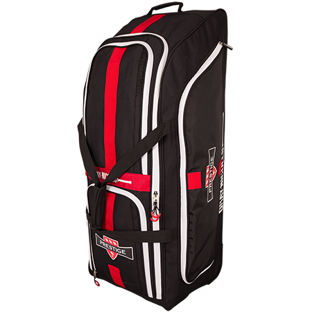 Gray-Nicolls Cricket Prestige Holdall Black_red_white Standing