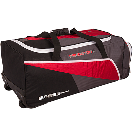 Gray-Nicolls Cricket Predator 300 Holdall Red_black_grey Back