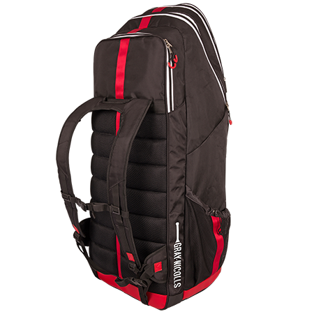 Gray-Nicolls Cricket Legend Duffle Black_red_white Back