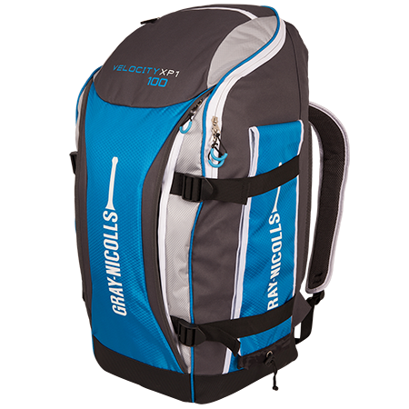 Gray-Nicolls Cricket Velocity XP1 100 Duffle Blue_grey Front