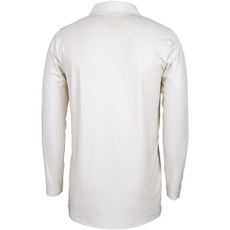 Gray-Nicolls Cricket Clothing Pro Performance Ivory L_s, Back