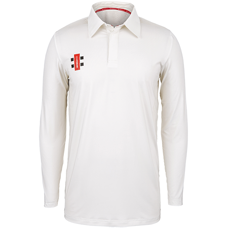 Gray-Nicolls Cricket Clothing Pro Performance Ivory L_s, Front
