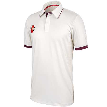 Gray-Nicolls Cricket Pro Performance Maroon S_s Main