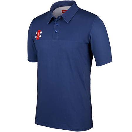 Gray-Nicolls Cricket Shirt Pro Performance Navy Main