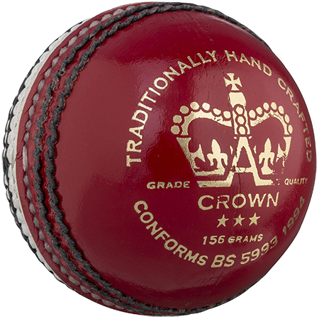 Gray-Nicolls Cricket Crown 3 Star 156g Red_white Front