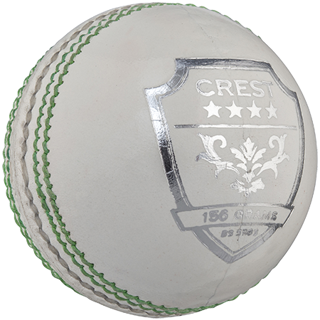 Gray-Nicolls Cricket Crest 4 Star 156g White Front