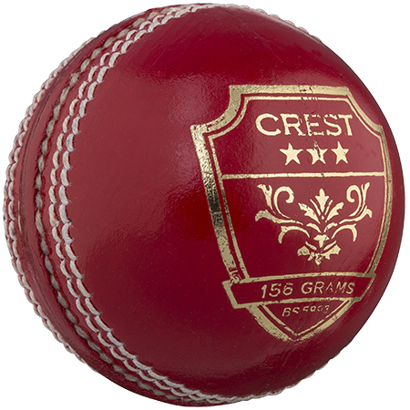 Gray-Nicolls Cricket Crest 3 Star 156g Red Front