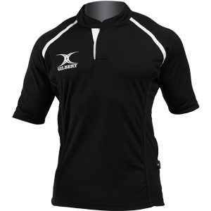Gilbert Rugby Xact Shirt Black