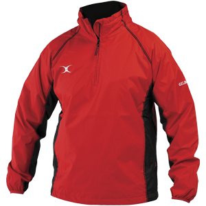 Storm Jacket Red Black