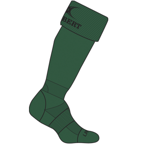 Gilbert Rugby Kryten Sock Green
