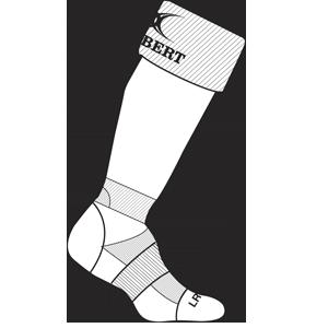 Gilbert Rugby Kryten Sock White