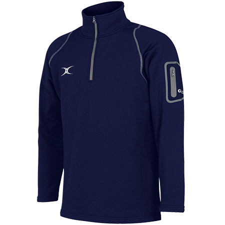 Gilbert Rugby Fleece Dark Navy Main