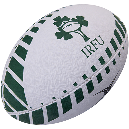 Gilbert Rugby Supporter Ireland Size 5, 2017 Creative Main