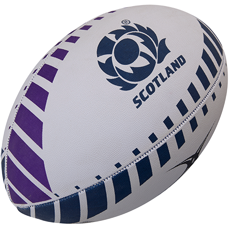 Gilbert Rugby Supporter Scotland Size 5, 2017 Creative Main