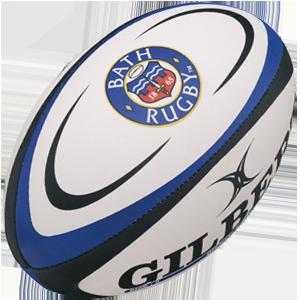 Gilbert Rugby Bath Replica Ball