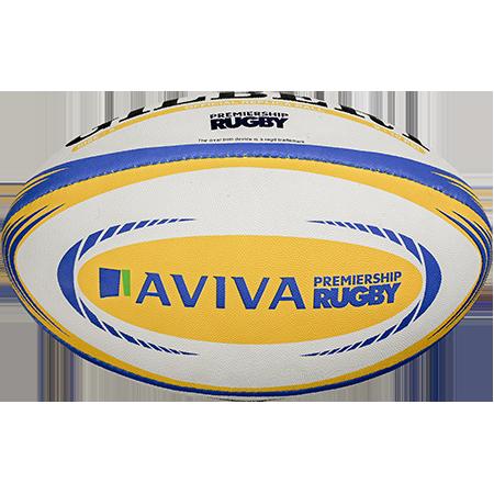 Gilbert Rugby REPLICA AVIVA PREM SZ 5 VIEW 2