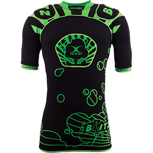 Blitz Black Green Body Armour