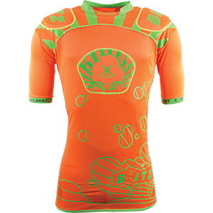 Blitz Orange Green Body Armour