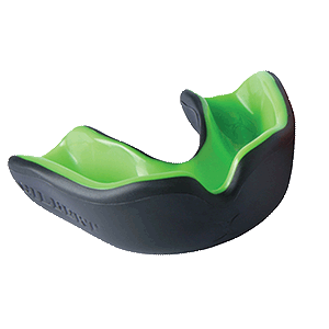 Mouthguard Black / Green