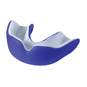 Mouthguard Blue / White