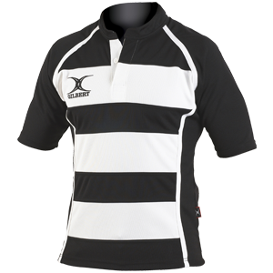 Gilbert Rugby Store Xact Hooped Shirt | Rugby's Original Brand