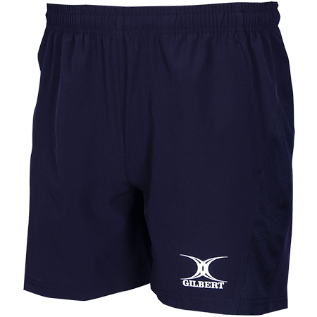 Gilbert Rugby Clothing Womens Leisure Short Dark Navy