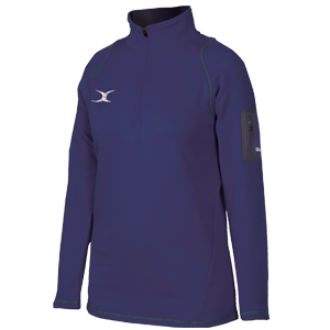 Gilbert Netball Quest Fleece Navy