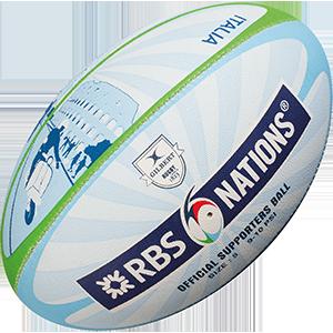 Gilbert Rugby RBS 6 Nat City Supporter Ball