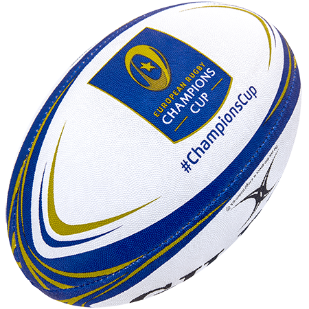 Gilbert Rugby Replica Champions Cup Sz 5, Creative