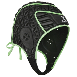 Evolution Headguard Black / Green