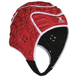 Evolution Headguard Red / White