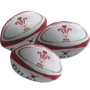 Gilbert Rugby Juggling Balls Wales