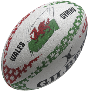 Gilbert Rugby Welsh Mascot Ball