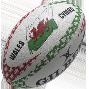 Gilbert Rugby Welsh Mascot Ball