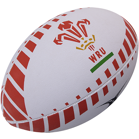 Gilbert Rugby Supporter Wales Size 5, 2017 Creative Main