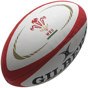 Gilbert Rugby Replica Wales Ball