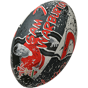 Gilbert Rugby Welsh Player Ball Novelty