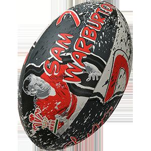 Gilbert Rugby Welsh Player Ball Novelty