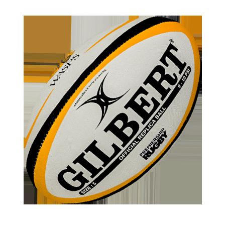 Gilbert Rugby Wasps Replica Ball