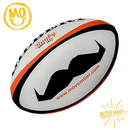 Gilbert Rugby Moustache Panel