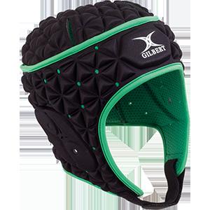 Ignite Black Green Headguard